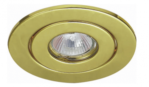 Round Iron Recessed Ceiling MR16 Spotlight Fixture Frame 1659