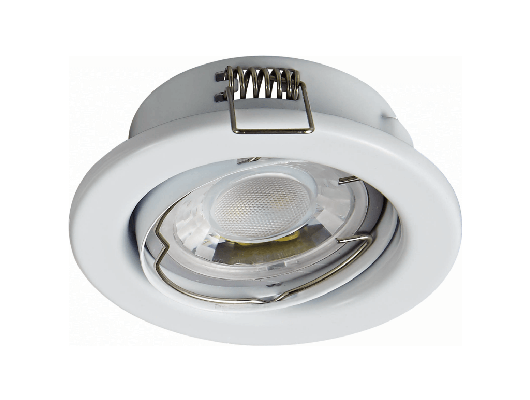 Recessed Round White CNC Turning Aluminum LED COB 15W 18W Ceiling Spotlight Downlight C1118