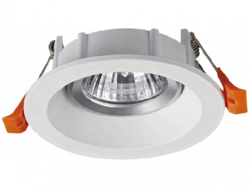 Recessed Anti-Glare Ceiling MR16 Spotlight Fixture Frame 407H